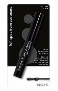 Covergirl Full Spectrum Lash Ambition Mascara, Black, 0.3 Fluid Ounce