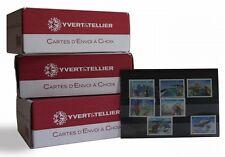 Pack de 300 cartes de classement à 3 bandes pour timbres.