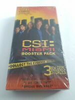 NEW SEALED CSI MIAMI BOOSTER PACK FOR THE CSI BOARD GAME