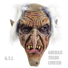 Goblin MASCHERA Uomo Anziano Halloween spaventosa Horror Adulto Costume Accessorio