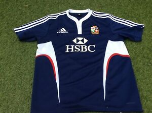 BRITISH LIONS 2009 South Africa shirt  BY ADIDAS SIZE LARGE
