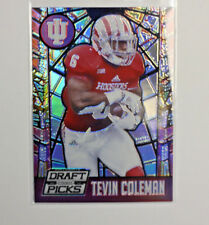 2015 PANINI COLLEGIATE DRAFT PICKS FOOTBALL TEVIN COLEMAN  C6
