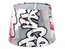 Graffiti Lampshade Light Shade Girls Boys Bedroom Skate Park Urban Brick Wall