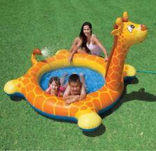 INTEX GONFIABILE GIRAFFA SPRAY per Bambini Paddling Nuoto Piscina per bambini giocattolo 574346