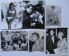 URSULA ANDRESS + 5 PHOTOGRAPHIES ARGENTIQUES PRESSE VINTAGE 6 PRESS PHOTOGRAPHS