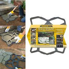 QUIKRETE Walk Maker Country Stone Pattern Concrete Mold 2 X 2 Foot Walkmaker NEW