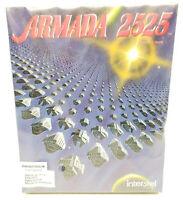 "Armada 2525 - IBM PC 5.25"" & 3.5"" Complete in Box Big Box PC Game (SEALED)"
