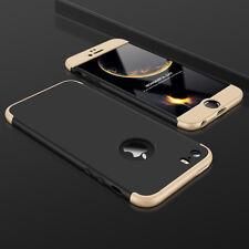 Hülle für iPhone SE | 5s | 5 Full Cover 360 Grad Handy Case + Panzer Schutz Glas