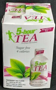 5-hour TEA Raspberry Flavor 6-Pack New Exp:12/21