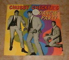 CHUBBY CHECKER chubby checker's dancin' party 1962 UK CAMEO PARKWAY MONO PS EP