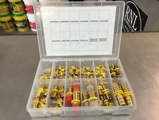 67 PIECE BRASS HOSE BARB NPT PUSH LOCK KIT