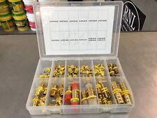67 Piece Brass Hose Barb Npt Push Lock Kit
