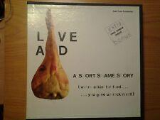 "RARE BOX 11 LP + 7"" Live Aid NM Queen U2 David Bowie Dire Straits Sting Madonna"
