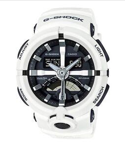 Casio G-Shock *GA500-7A Urban Sports Anadigi White Watch for Men COD PayPal