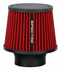 """Spectre Performance 9132 Washable Cone Air Filter 3"""" Clamp On Red"""