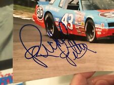Richard Petty Autograph Photo.  1986/1987