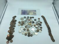 Large Lot of Canada and USA Coins Canadian Coin Collection + Banknote 8187