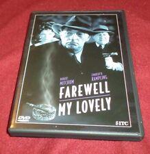 Farewell, My Lovely RARE Pioneer DVD Robert Mitchum, Charlotte Rampling