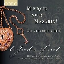 Le Jardin Secret, Music for Mazarin! - Music for Mazarin [New CD] Jewel Case Pac