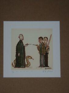 Scott C Campbell Harry Potter Deathly Hallows Art Print Showdown Showdowns