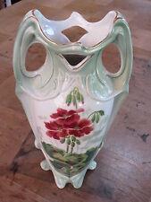 Vase en barbotine Luneville Keller & Guerin style art nouveau old french antique