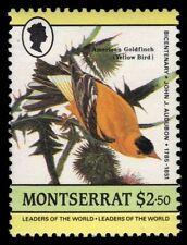 "MONTSERRAT 583a (SG663) - J.J. Audubon ""American Goldfinch"" (pf57716)"