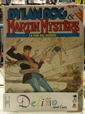DYLAN DOG & MARTIN MYSTERE N.2 LA FINE DEL MONDO Ed.BONELLI SCONTO 15%
