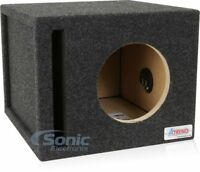 """NEW! Atrend 8SQV 8"""" Single Pro Series Vented/Ported Subwoofer Enclosure Box"""
