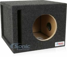 "NEW! Atrend 8SQV 8"" Single Pro Series Vented/Ported Subwoofer Enclosure Box"