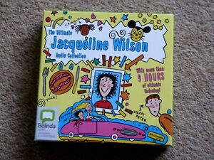 JACQUELINE WILSON - ULTIMATE AUDIO COLLECTION     ( BOX ONLY - NO CDS )