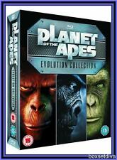 PLANET OF THE APES EVOLUTION COLLECTION - ALL 7 MOVIES - NEW & SEALED BLURAY*