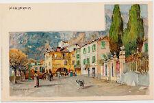 PORLEZZA – Weilandt Signed Porlezza Postcard - Italy