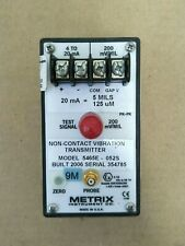 Non-Contact Vibration Transmitter Metrix 5465E-052S