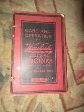 Waukesha engine owners Vintage Tractor Manual book js jl jk
