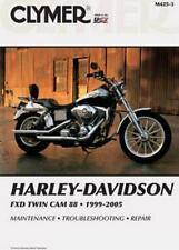 Clymer Shop Repair Manual Harley-Davidson Fxdwg/Fxdwgi Dyna Wide Glide 1999-2005