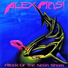 Alex Masi Attack of The Neon Shark vinyl LP new sealed