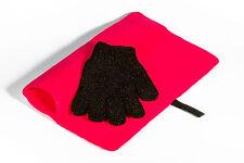 Estera de viaje a prueba de calor Mateque Rosa & guante resistente al calor para su uso con GHD, C9