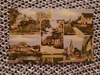 Surrey Villages - Vintage Postcard