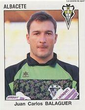 N°022 JUAN CARLOS BALAGUER ALBACETE  CROMO STICKER PANINI LIGA 1994