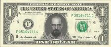 Walter White / Heisenberg *Breaking Bad* Dollar Bill - REAL, Spendable Money!