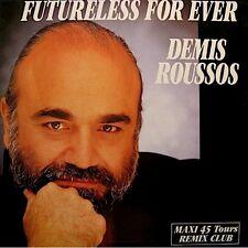 ++DEMIS ROUSSOS futureless for ever/comme le vent d'hiver MAXI 1989 EX++