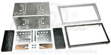CONNECTS2 VAUXHALL MERIVA DOUBLE DIN FACIA KIT SILVER CT23VX10