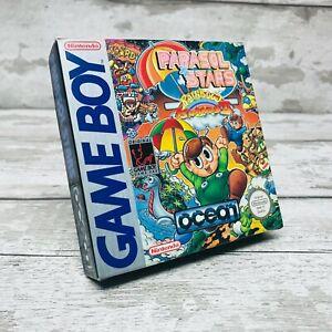 Nintendo Gameboy Parasol Stars Rainbow Islands 2 Original Box & Inserts Rare
