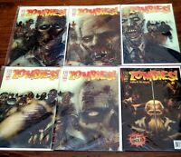 Zombies Feast Issues 1-5 plus Eclipse Of The Undead Issue 1 IDW Comics gory gore