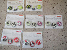 Lomography Shutter Buttons - Lot of 12 sets
