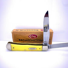VINTAGE CASE USA Trapper 3254 FOLDING KNIFE Lock Back w/ Box