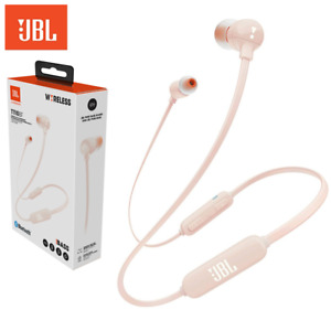 Original JBL T110 BT Bluetooth In-Ear Kopfhörer kabellos Headset Flachkabel Pink