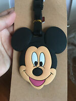 cute mickey mouse head silica gel luggage tags Baggage Tag brand