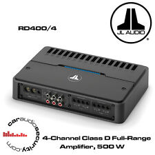 JL Audio rd400/4 - 4 CANALI CLASSE D FULL-RANGE AMPLIFICATORE 400w RD Amp Nuovo