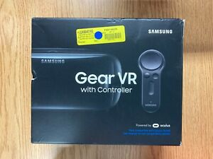 SAMSUNG Gear VR with Controller 2017 by Oculusfor Galaxy S6, S7, S8, Open Box